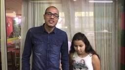 Roger e sua filha Giulia agradecem por reportagem emocionante