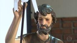 Dia de São João é celebrado com barraquinas e festas, mas também com orações