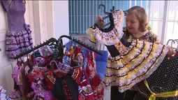 Festas juninas movimentam lojas voltadas para venda de artigos para a festa