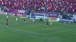 O gol de Brasil-RS 0 x 1 Internacional pela 10ª rodada do Campeonato Brasileiro da Série B