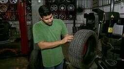 Entenda o perigo envolvendo o tráfego com pneus carecas