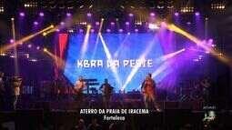 Com entrada gratuita, bandas animam o São João de Fortaleza