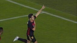 O gol de Santos 0 x 1 Sport pela 10ª rodada do Campeonato Brasileiro