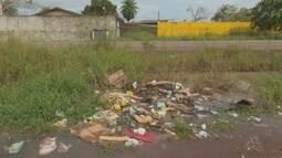Em Macapá, moradores reclamam de sujeira em área próximo a Rodovia do Curiaú