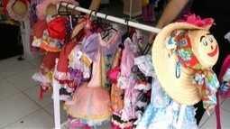 Tradicionais festas juninas e julinas ajudam comércio em Valadares