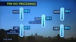 Apesar do inverno, temperatura deve subir no próximos meses em Goiás
