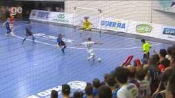 Confira os cinco gols mais bonitos da rodada da Liga Nacional de Futsal