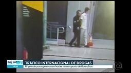 PF prende um suspeito de contratar pessoas para transportar drogas pra outros países