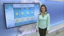 Confira a previsão do tempo para esta quarta-feira (28) no Sul de Minas