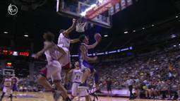 Lonzo Ball, do Los Angeles Lakers, faz a melhor jogada da noite, da Liga de Verão da NBA