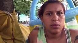 Profissão Repórter reencontra jovem que mora com os filhos nas ruas de SP
