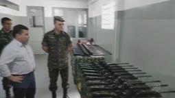 Fuzis do exército serão usados para combater tráfico de drogas nos rios do AM