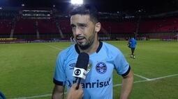 Edilson garante que Grêmio soube se impôr diante do Vitória para conseguir vencer