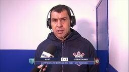 """""""Satisfeito com o desempenho"""", afirma Carille, após empate com Avaí"""