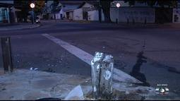 Moradores reclamam que falta de sinalização causa acidentes em cruzamento de Goiânia