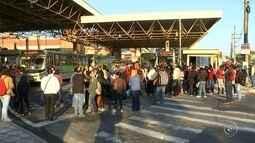 Greve dos trabalhadores do transporte urbano é retomada em Sorocaba