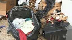 Famílias desabrigadas após incêndio em favela precisam de doação de alimentos