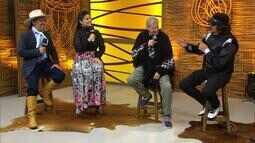 Mário Barbará e Chico Saratt cantam com Nilton Júnior no 'Galpão Crioulo' (bloco 2)