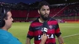 """Wallace desabafa após nova derrota do Vitória:""""Muita explicação, nenhuma solução"""""""