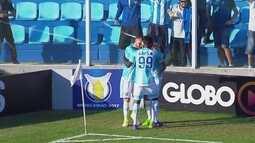 O gol de Avaí 1 x 0 Cruzeiro pela 16ª rodada do Campeonato Brasileiro