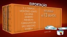 Região aumenta volume de exportações