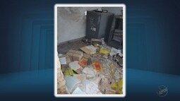 Criminosos explodem agência bancária em Conceição da Aparecida, MG