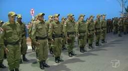 Cerimônia especial comemora os 45 anos de criação do Batalhão do Tapajós, em Santarém
