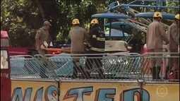Prefeitura de Goiânia fecha o parque onde um brinquedo quebrou, deixando 13 feridos