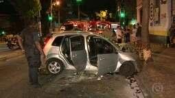 Polícia persegue criminosos na Tijuca e Vila Isabel, na Zona Norte do Rio