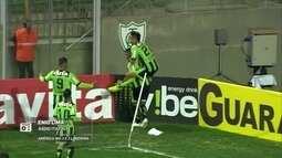 """""""Redação AM"""": Enio Lima narra terceiro gol do América-MG contra o Londrina"""