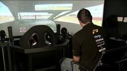 Pilotos da Stock Car treinam em simulador em busca da primeira vitória na categoria