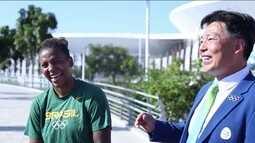 Um ano depois, Rafaela Silva relembra ouro na Rio 2016 e dica de árbitro