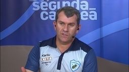 Claudio Tencati fala sobre segredo de estar no comando do Londrina desde 2011