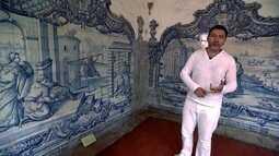 No Convento de São Francisco, historiador fala da arquitetura e da azulejaria