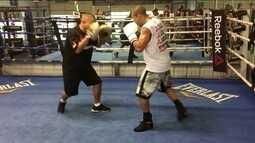 José Aldo treina boxe nos Estados Unidos