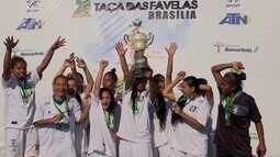 Ceilândia vence categorias masculina e feminina da Taça das Favelas de Brasília