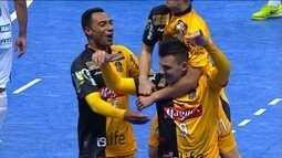 Os gols de Sorocaba 8 x 2 Dracena pela Liga Paulista de Futsal