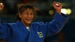 Sarah Menezes, campeã olímpica 2012, busca título mundial em Budapeste