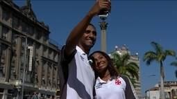 Remo do Vasco tem ligação histórica com o Cais do Valongo, patrimônio da Unesco do Rio
