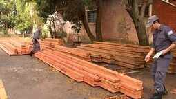 Operação da Polícia Ambiental apreende madeira ilegal na região de Rio Preto