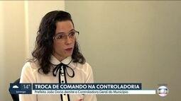 João Doria demite a controladora geral do município
