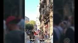 Paraense presenciou atentado terrorista que matou 13 pessoas em Barcelona, na Espanha
