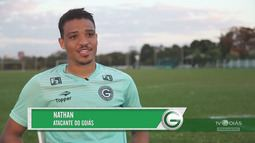 TV Goiás - Bate-papo com o atacante Nathan
