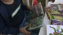 Tenda da literatura no Ação Cidadania em Campo Grande