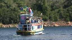 """Conheça o barco museu """"Entre as Águas"""", em Piranhas"""