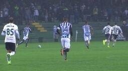 Melhores momentos de Coritiba 0 x 0 Santos pela 21ª rodada do Campeonato Brasileiro