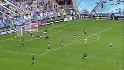 Gols do Fantástico: Grêmio empata e perde chance de encostar no líder