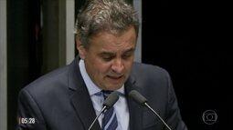 Michel Temer e Aécio Neves usam a internet para explicar encontro no Palácio do Jaburu