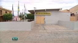 Após explosões em assaltos, moradores do Sertão seguem com dificuldades no atendimento