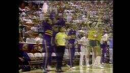 Relembre momentos marcantes da final do Pan de 87 entre Brasil e Estados Unidos
